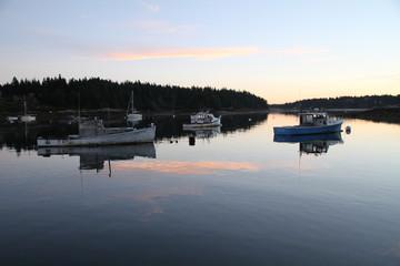 Sunrise Isle Au Haut Harbor, Maine