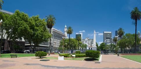 Plaza de Mayo, Centro de Buenos Aires, Argentina