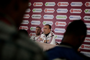 Soccer Football - World Cup 2018 Qualifiers - Venezuela's national soccer team news conference