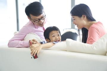 Chinese family bonding