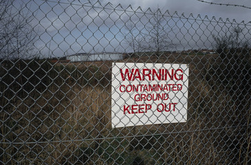 Contaminated land, site of former gas works