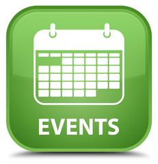 Events (calendar icon) special soft green square button