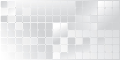 Graphic the grid white-gray abstract background illustration
