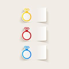 realistic design element: ring