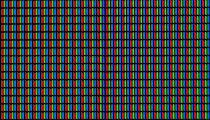 RGB Led Diodes of a Computer Screen / Pixels Macro