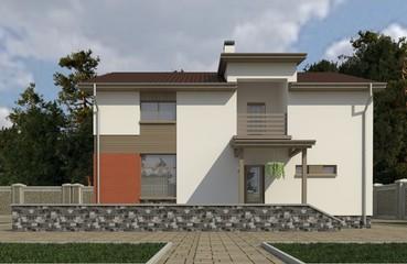 House render 3d illustration