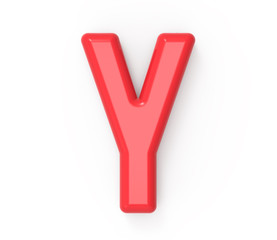 red letter Y