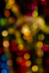 Photo of bokeh lights, night