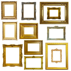 frames  on white