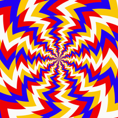 Psychedelic optical spin