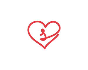 Lowercase Letter s and Heart Logo 1
