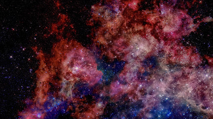 Starry outer space background texture. Science art. Elements of this image furnished by NASA