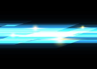 technology future rectangle light stripe