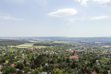 View from the castle of Csokako