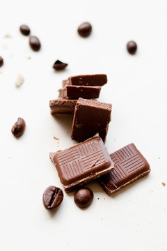 Composition of Milk chocolate pieces