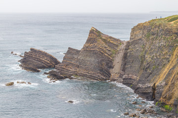 Rocks and cliffs in Odeceixe