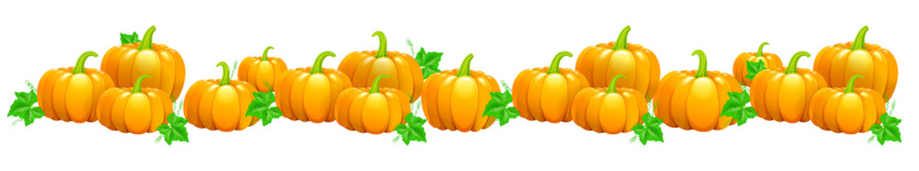 Garland of Pumpkins