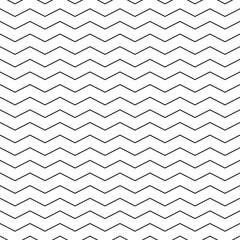 Zigzag seamless pattern - minimalistic vector background.