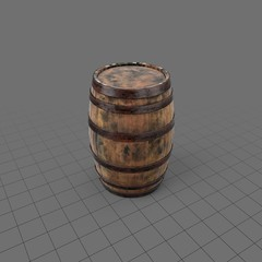 Wooden Whiskey Barrel141