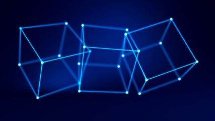 Abstract background. 3d illustration, 3d rendering.