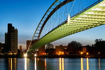 Dreiländerbrücke in Weil am Rhein