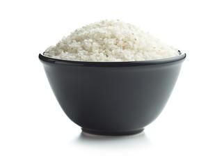White sushi rice in bowl.