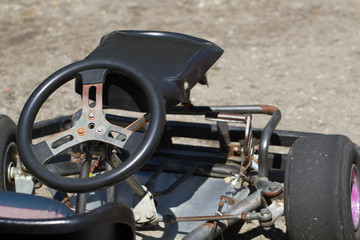 Old go-kart