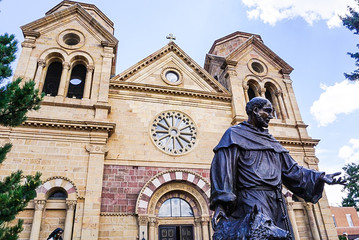 Cathedral Basilica of Saint Francis of Assisi in Santa Fe, New Mexico
