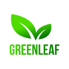 Green Leaf, Leaves Logo