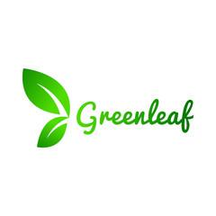 Green Leaf, Leaves Logo