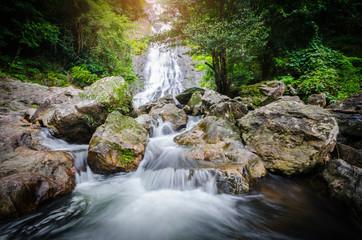 Amazing beautiful waterfalls at Sarika Waterfall.