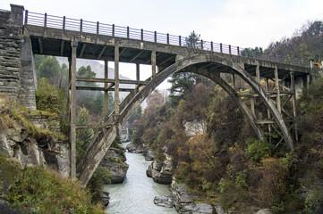 Edith Cavell Bridge,South Island,New Zealand