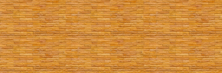 Wall Mural - horizontal modern slate brick wall for pattern and background
