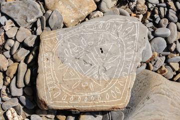 Flora Vattay artista di spiaggia