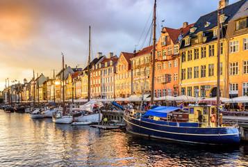 Foto op Canvas Europese Plekken Copenhagen Denmark