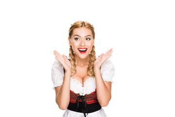 excited german girl