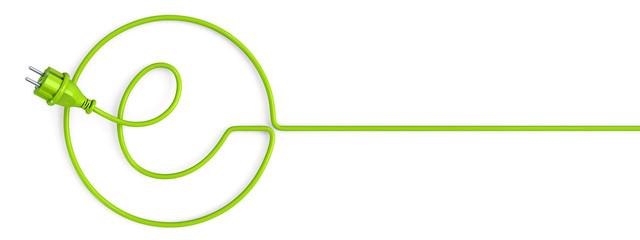 Green e-power plug