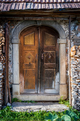 Old farmhouse door