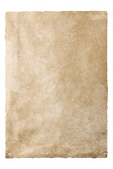 Vintage texture old paper with clipping path