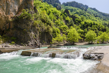 Aoos river, Konitsa, Greece