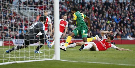 Arsenal v Norwich City - Barclays Premier League