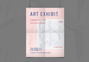Charity Event Poster Layout 1