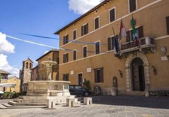 CIty of Chiusi in Tuscany, Italy