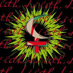 Lilith - astrological symbol