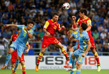 2018 World Cup Qualifications - Europe - Kazakhstan vs Montenegro