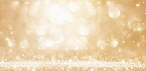 Christmas Golden Lights