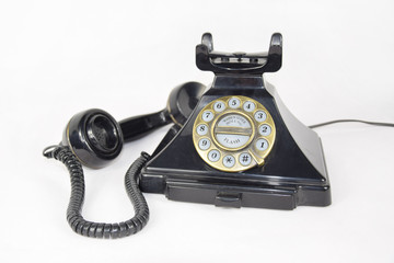 Old Telephone, Earpiece Laid Aside