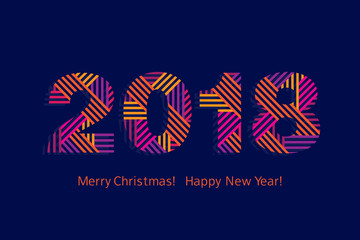 New year 2018 photos royalty free images graphics vectors greeting card happy new year 2018 merry christmas vector m4hsunfo