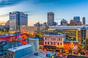 Fototapete - Memphis Tennessee Skyline