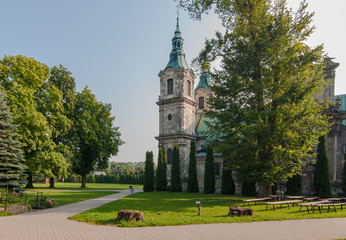Photo sur Toile Monument Archiopactwo Cystersów w Jędrzejowie, Polska